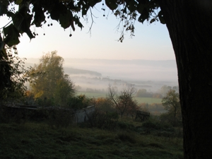 Stetten im Nebel